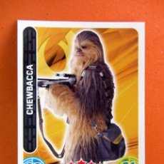 Trading Cards: CHEWBACCA 86 FORCE ATTAX STAR WARS TOPPS. Lote 70376877