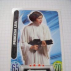 Trading Cards: STAR WARS TOPPS FORCE ATTAX PRINCESA LEIA. Lote 70536021
