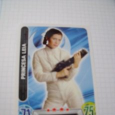 Trading Cards: STAR WARS TOPPS FORCE ATTAX PRINCESA LEIA. Lote 70537669