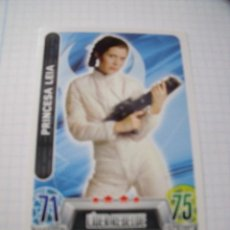 Trading Cards: STAR WARS TOPPS FORCE ATTAX PRINCESA LEIA. Lote 70539993