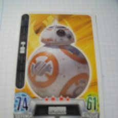 Trading Cards: STAR WARS TOPPS FORCE ATTAX BB-8. Lote 70540321