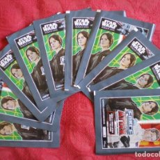 Trading Cards: LOTE 10 SOBRES SIN ABRIR. STAR WARS ROGUE ONE. TRADING CARD GAME. TOPPS FORCE ATTAX. CARREFOUR. Lote 99368075