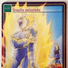 Trading Cards: DRAGON BALL JUEGO DE CARTAS COLECCIONABLES JCC D 618 ORGULLO APLASTADO. Lote 73489487