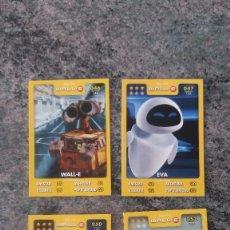 Trading Cards: WALL-E - DISNEY PIXAR - 0,50€ LA UNIDAD. Lote 74213387