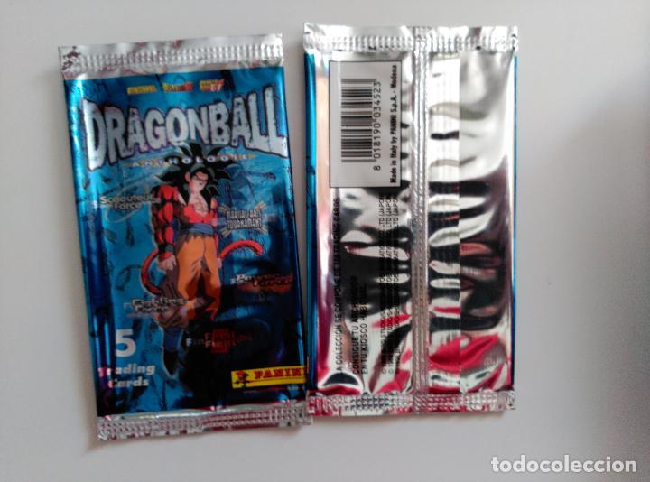 DRAGON BALL z BOLA DE DRAGON anthologie panini empty booster sobre vacio segunda mano