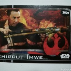 Trading Cards: ROGUE ONE CARTA N° 10 TOPPS STAR WARS 2016. Lote 76560839