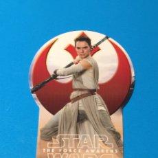 Trading Cards: STAR WARS CARTA EDICIÓN LIMITADA CON FORMA REY TOPPS VIAJE HACIA EL DESPERTAR DE LA FUERZA EDL. Lote 130688948