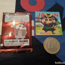 Trading Cards: JAPANESE CHOCOBI STICKER SHINCHAN SHIN CHAN 2016. Lote 79624333