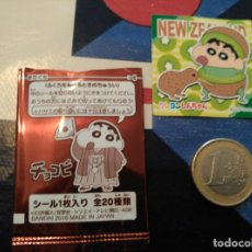 Trading Cards: JAPANESE CHOCOBI STICKER SHINCHAN SHIN CHAN 2016. Lote 79624349