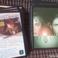 Trading Cards: THE X FILES (ESPEDIENTE X).58 CARDS DEL AÑO 1996.. Lote 79712989