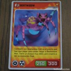 Trading Cards: BERTWIDOW COLT. INVIZIMALS 002. LITERACOMIC. Lote 80807571