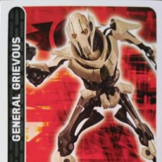 Trading Cards: 17 GENERAL GRIEVOUS. SITH. STAR WARS. CARREFOUR . Lote 81156704