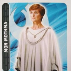 Trading Cards: 31 MON MOTHMA. LIDER REBELDE. STAR WARS. CARREFOUR . Lote 81156716