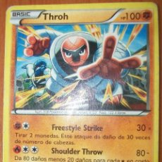 Trading Cards: THROH. Nº 538 POKEMON DE JUDO. Lote 81157268