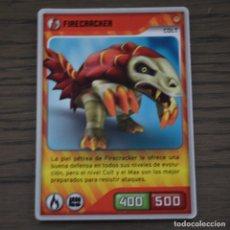 Trading Cards: FIRECRACKER COLT. INVIZIMALS 005. LITERACOMIC. Lote 81270972