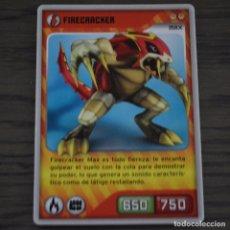 Trading Cards: FIRECRACKER MAX. INVIZIMALS 006. LITERACOMIC. Lote 81271076