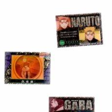 Trading Cards: SERIE COMPLETA DE 45 CARTAS JAPONESAS DE NARUTO. Lote 83154800