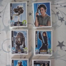 Trading Cards: TOPPS - STAR WARS FORCE ATTAX 2013 SERIE 3. PACK COMPLETO 192 CARDS BASICAS.( TRASERA ROJA ).NUEVAS. Lote 83549348