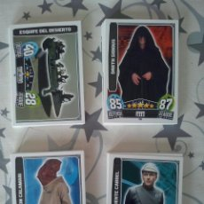 Trading Cards: TOPPS - CARDS BASICAS STAR WARS FORCE ATTAX SERIE 3. A 0,40 CTMOS UNIDAD.TRASERA ROJA. MBE. Lote 92099437