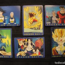 Trading Cards: LOTE 6 CROMOS TRADING CARDS - DRAGON BALL Z.. Lote 210138007