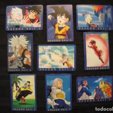 Trading Cards: LOTE 9 CROMOS TRADING CARDS - DRAGON BALL Z.. Lote 210138080