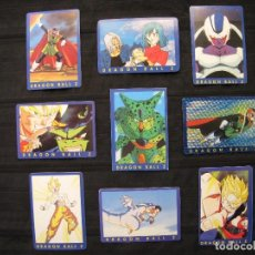 Trading Cards: LOTE 9 CROMOS TRADING CARDS - DRAGON BALL Z.. Lote 210138150