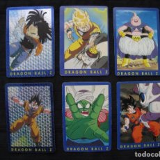 Trading Cards: LOTE 6 CROMOS TRADING CARDS - DRAGON BALL Z.. Lote 210138627