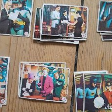 Trading Cards: BATMAN A&BC 1966. Lote 85427272