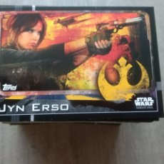 Trading Cards: BÁSICAS - STAR WARS - ROGUE ONE TRADING CARDS TOPPS CARTA CROMO. Lote 178619098