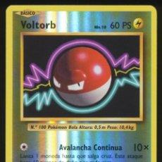 Trading Cards: #39/108. VOLTORB (REVERSE HOLO) - XY EVOLUCIONES (EVOLUTIONS) - CARTA POKEMON. Lote 195136945