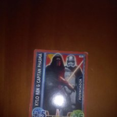 Trading Cards: TOPPS FORCE. STAR WARS. KYLO REN CAPITÁN PHASMA. 95. C2. Lote 88410100