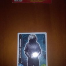 Trading Cards: TOPPS FORCE STAR WARS.ARTILLERO IMPERIAL 58. C2. Lote 88412624