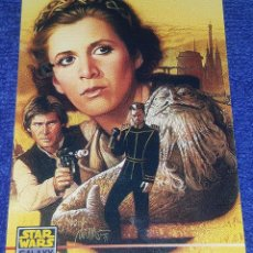 Trading Cards: LEIA - PROMO CARD 000 - STAR WARS GALAXY SERIES 3- TOPPS (1995). Lote 88946468