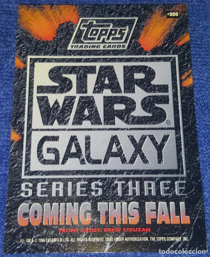 Trading Cards: Leia - Promo Card 000 - Star Wars Galaxy Series 3- Topps (1995) - Foto 2 - 88946468