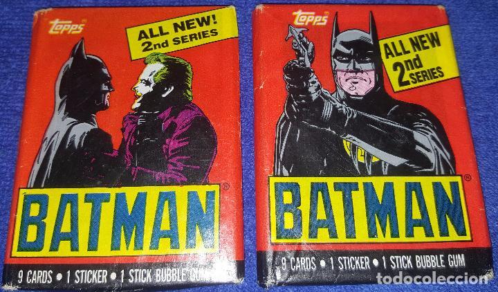 BATMAN - MOVIE TRADING CARDS - SERIES 2 - TOPPS (1989) (Coleccionismo - Cromos y Álbumes - Trading Cards)