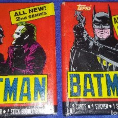 Trading Cards: BATMAN - MOVIE TRADING CARDS - SERIES 2 - TOPPS (1989). Lote 88947544