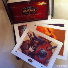 Trading Cards: CAJA DE 35 LAMINAS WORLD OF WARCRAFT EDICION LIMITADA GAME THE HORDE. Lote 89094688
