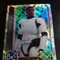 Trading Cards: TOPPS TRADING CARDS Nº 209 FINN STAR WARS CARTA HOLOGRAFICA FORCE ATTAX 2015 GAME. Lote 103351655