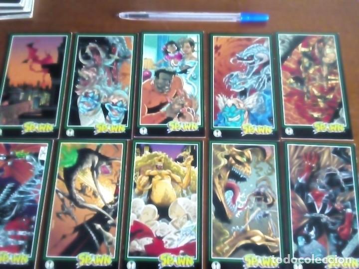 Trading Cards: SPAWN 59 TRADING CARDS AÑO 1995 LEER DESCRIPCION - Foto 5 - 89306208