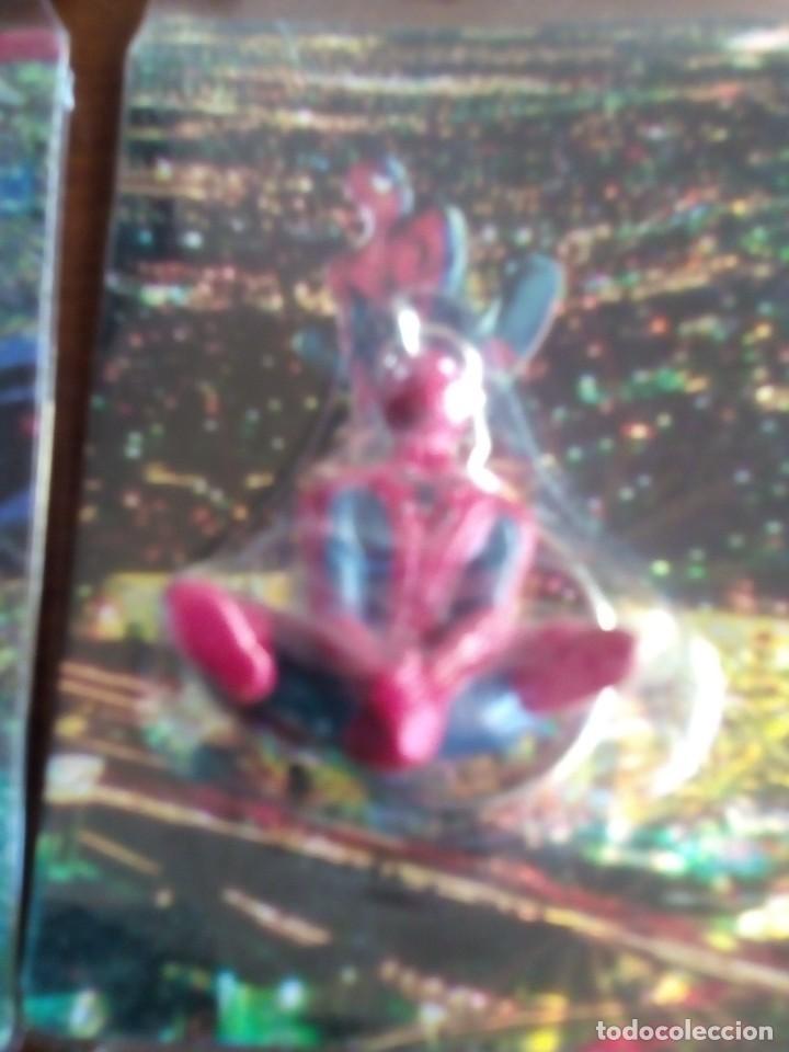 Trading Cards: SPIDERMAN 4 LLAVEROS CON UNA TRADING CART CADA UNO AÑOS 90 DIFICILES DE VER - Foto 6 - 89688224