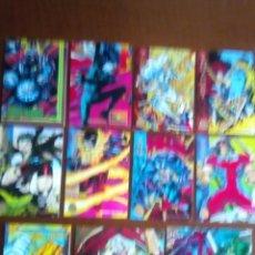 Trading Cards: MARVEL UNIERSE TRADING CARTS DEL AÑO 1994 11 VARIADAS. Lote 89780476