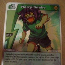 Trading Cards: INAZUMA ELEVEN TRADING CARD GAME HARRY SNAKE MF PERSONAJE RESERVA 4. Lote 90039308