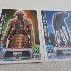 Trading Cards: STAR WARS FORCE ATTAX. TOPPS. 2 CARDS.. Lote 90755773