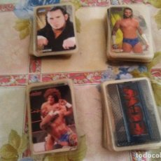 Trading Cards: LOTE DE 98 CARDS SIN REPETIR PRESSING CATCH. Lote 90762170