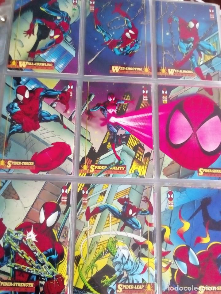 MARVEL SPIDER-MAN AÑO 1994 N 1 AL 150 COMPLETA (Coleccionismo - Cromos y Álbumes - Trading Cards)