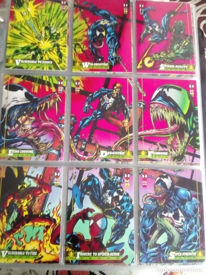 Trading Cards: MARVEL SPIDER-MAN AÑO 1994 N 1 AL 150 COMPLETA - Foto 2 - 91061455