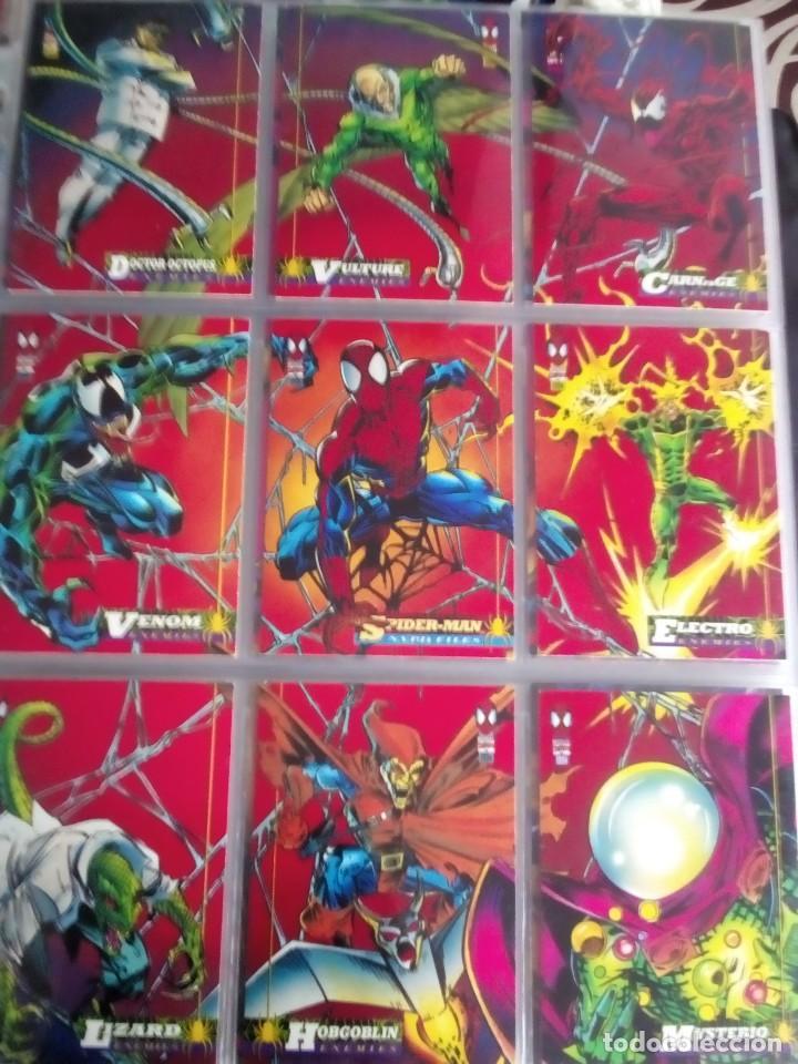 Trading Cards: MARVEL SPIDER-MAN AÑO 1994 N 1 AL 150 COMPLETA - Foto 8 - 91061455