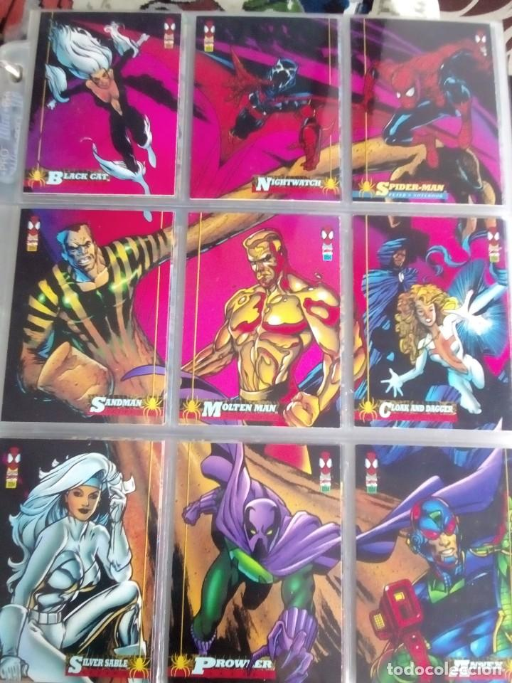 Trading Cards: MARVEL SPIDER-MAN AÑO 1994 N 1 AL 150 COMPLETA - Foto 9 - 91061455
