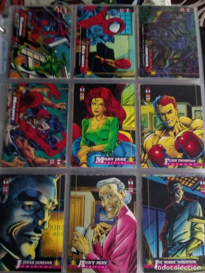 Trading Cards: MARVEL SPIDER-MAN AÑO 1994 N 1 AL 150 COMPLETA - Foto 14 - 91061455