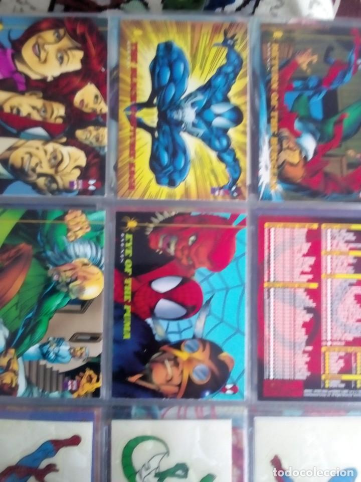 Trading Cards: MARVEL SPIDER-MAN AÑO 1994 N 1 AL 150 COMPLETA - Foto 17 - 91061455